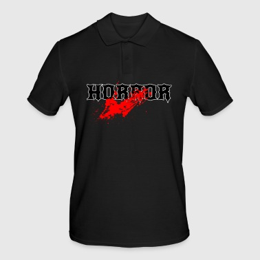 Bloodstain horror - Men's Polo Shirt