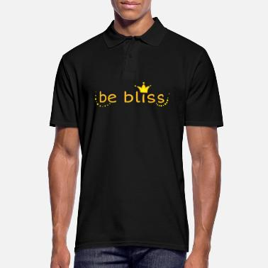 Bliss be bliss - Men's Polo Shirt