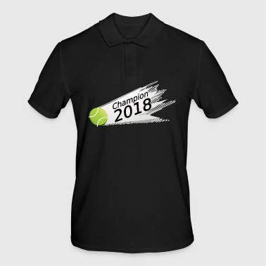 Tennis Champion 2018 Ball - Men's Polo Shirt