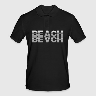 Plage Plage Plage - Polo Homme