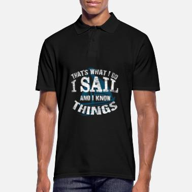 sailing - Men's Polo Shirt