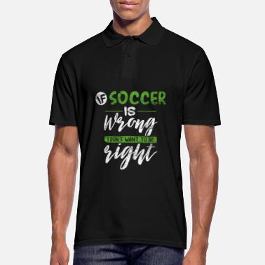 Football footballer - Men's Polo Shirt