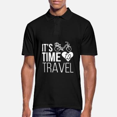 It is time to travel. - Men's Polo Shirt