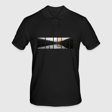 Calm calm silence - Men's Polo Shirt