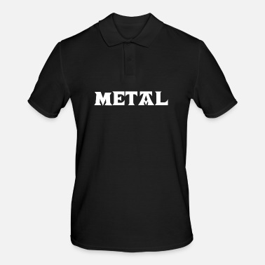 Thrash Metal Death Hard Rock Black Metalhead Thrash Core - Männer Poloshirt