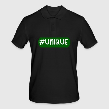 Unique #Unique, Unique, Special, Social, Diamond - Men's Polo Shirt