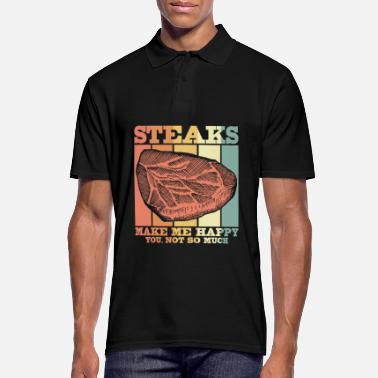 Meat meat - Men's Polo Shirt