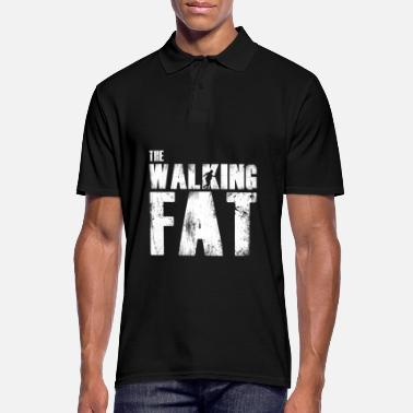 Fat Fat fat gift for fat - Men's Polo Shirt