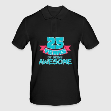 October 25th 25 Birthday Gift Birthday present party Anniversaire child birth - Men's Polo Shirt