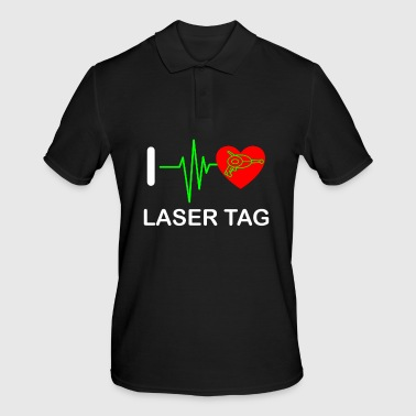 Funny Laser Tag Party TShirt Mode On I love laser tag - Men's Polo Shirt