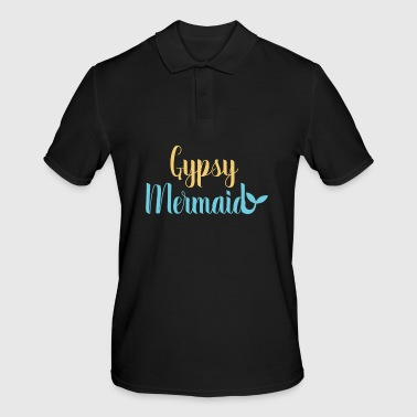 Gypsy Soul Heart Adventure Travel Tshirt Gypsy mermaid - Men's Polo Shirt