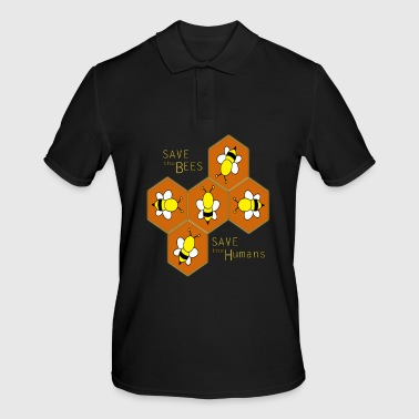 Save the bees, save the Humans - Men's Polo Shirt