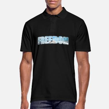 Freedom Freedom - freedom - Men's Polo Shirt