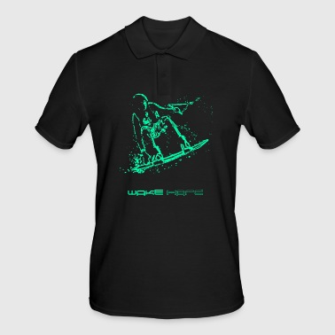 wakeboarder - Men's Polo Shirt