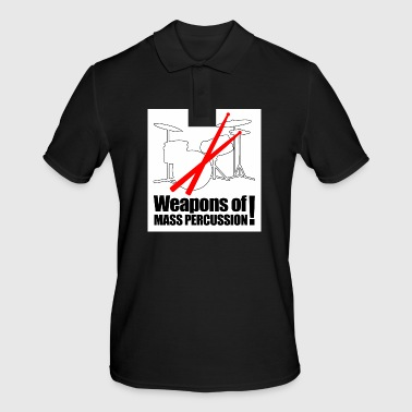 Drummer - weapon of mass percussion - Men's Polo Shirt