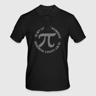 Pi is my Lucky Number - Men's Polo Shirt
