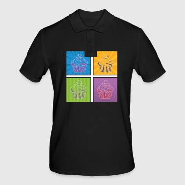 Graphic Art Pop Art / Graphic Novel: Cupcake - Mannen poloshirt