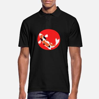 Koi Japon Koi Fish Point rouge carpe Koizüchter - Polo Homme