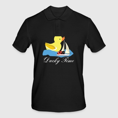 Duck squeaky duck rubber duck bath time - Men's Polo Shirt