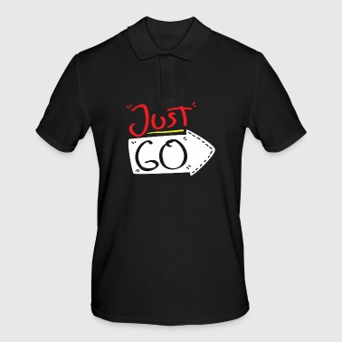 Just do the first step Motivation starts - Men's Polo Shirt