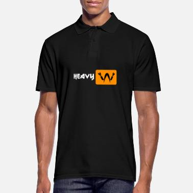 Heavy Porn - Heavy Metal Headbanger - Camiseta polo hombre
