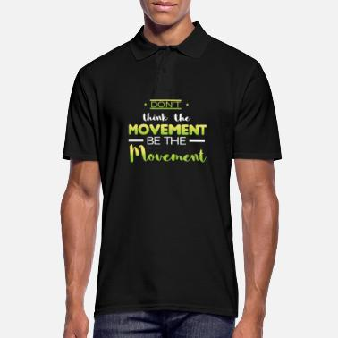 Movement design movement - Männer Poloshirt