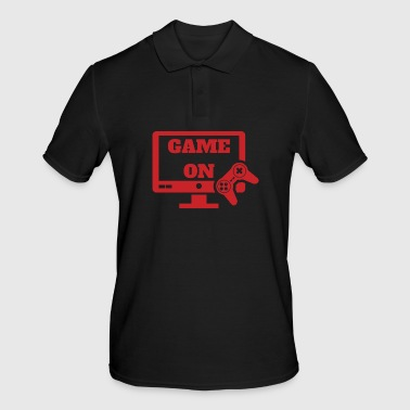 Game on Gaming Gamer Videoteca per videogiochi - Polo da uomo