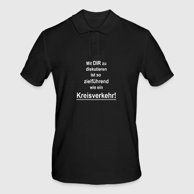To discuss with YOU ... - Men's Polo Shirt