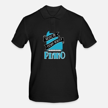 Piano Piano piano grand piano hammer piano gift - Men's Polo Shirt