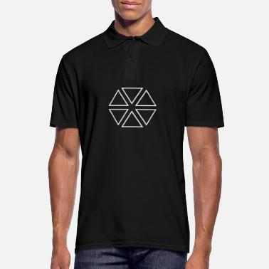Triangle Triangles Triangles Thick !!! - Men's Polo Shirt