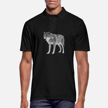 Wolf Wolf - Wolf - Men's Polo Shirt