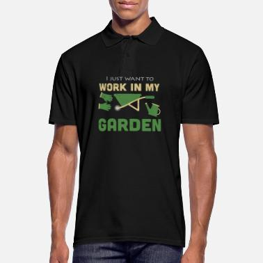 Jardin Jardinier jardinage jardinage jardinage - Polo Homme
