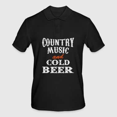 country beer - Männer Poloshirt