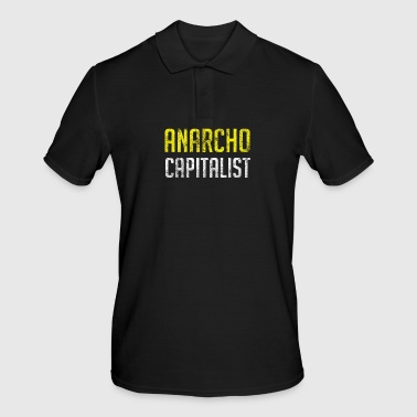 Anarcho capitaliste libertaire anarchiste - Polo Homme
