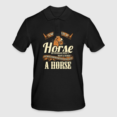 Horse riding horse riding - Men's Polo Shirt