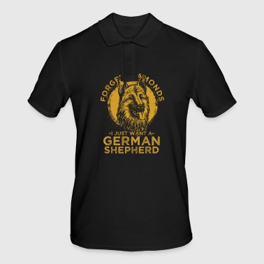 German shepherd dog - Men's Polo Shirt