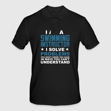 I am a swimming instructor .. - gift - Men's Polo Shirt