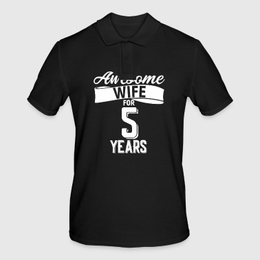 Wife's wedding day - Men's Polo Shirt