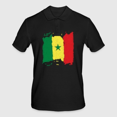Senegal flag - Men's Polo Shirt