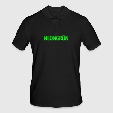 Neon green, neon and neon colors - Men's Polo Shirt