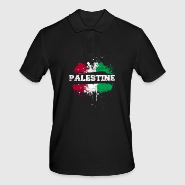 Palestine splatter - Men's Polo Shirt