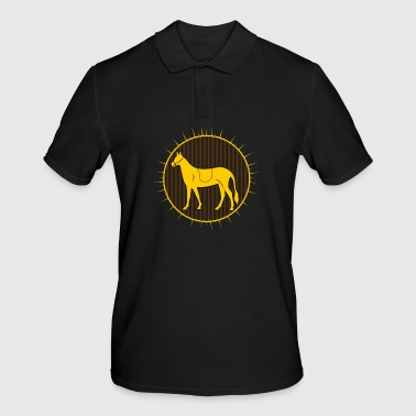 Horse riding Horsewoman Horse gift Horse riding - Men's Polo Shirt