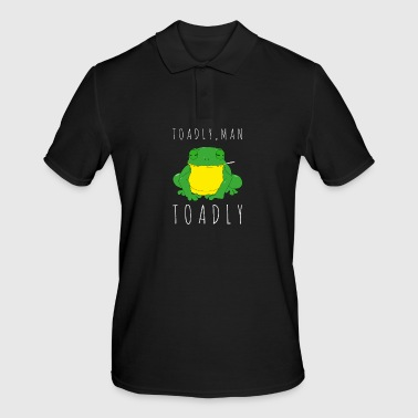 Toadly, Man Toadly Crapauds drôles grenouille fumant - Polo Homme