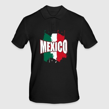 Mexico splatter - Men's Polo Shirt