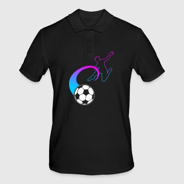 Football Fan Football Fan Footballer Gift - Men's Polo Shirt
