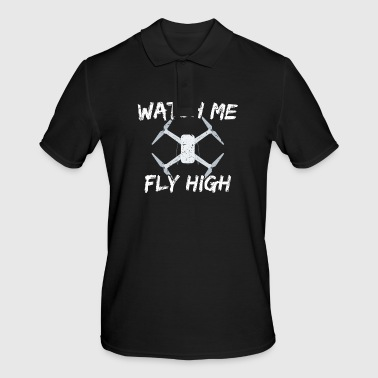 DRONE - Watch me fly high - Men's Polo Shirt