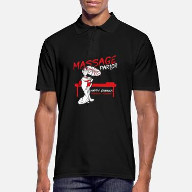 Massage Thai Massage - Männer Poloshirt