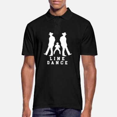 Line Dancing Line dance - Men's Polo Shirt
