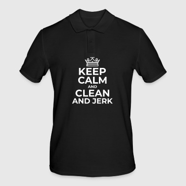 Clean and Jerk - Men's Polo Shirt