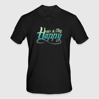 Bliss Say bliss happily happy gift - Men's Polo Shirt